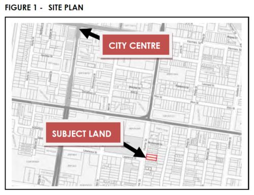 Figure 1 Site Plan