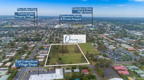 Rowe Street, Caboolture location