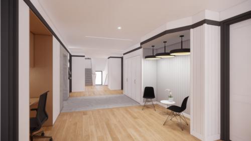 Lobby/breakout space